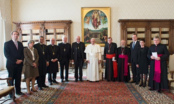 2014 Dezember - Papstbesuch